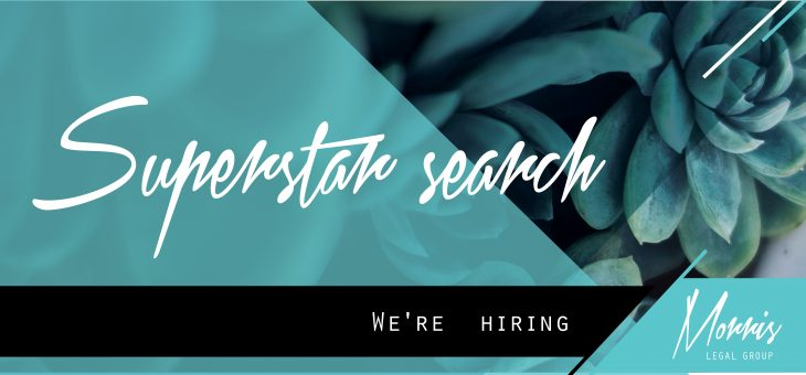 Superstar search: We're hiring!